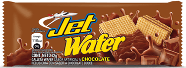 jet wafer chocolate