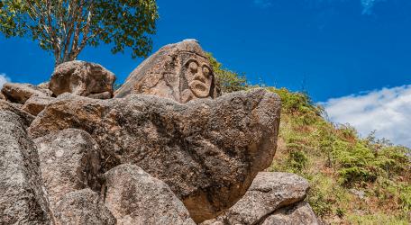 Esculturas en San Agustín