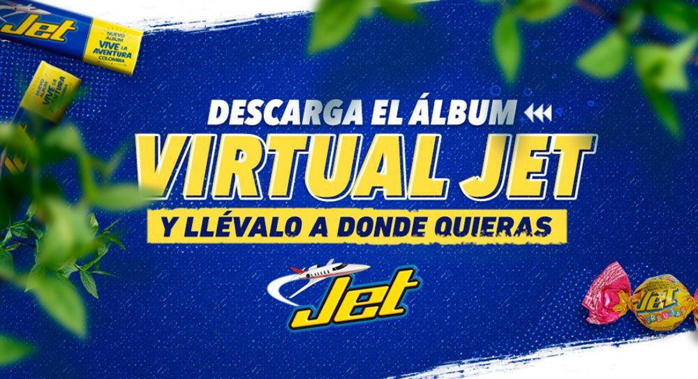 Álbum virtual jet